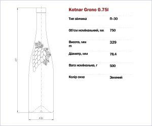 Kotnar Grono 0,75 л