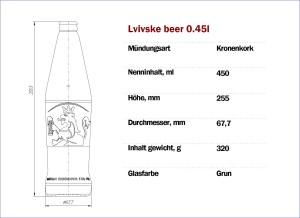 Lvivske Beer 450