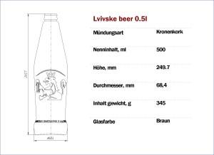 Lvivske Beer 500