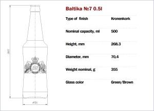 Baltika №7 500
