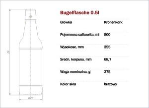 Buqelflasche 500
